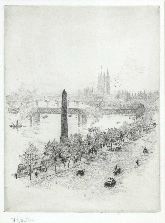 WILLIAM LIONEL WYLLIE (1851-1931)