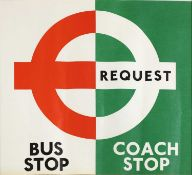 LONDON TRANSPORT COACH STOP/ BUS STOP POSTERS