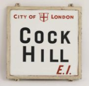'COCK HILL'
