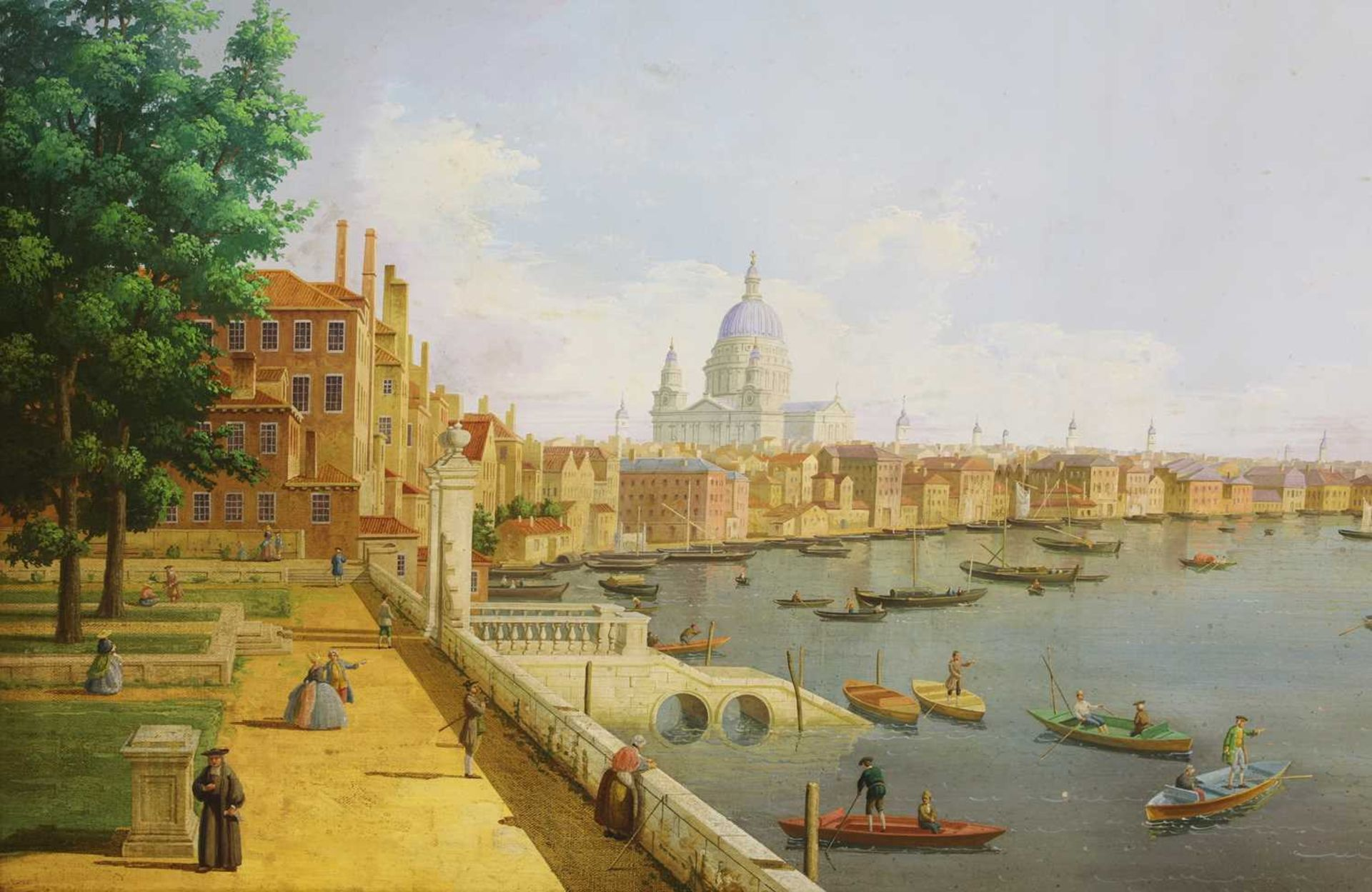 AFTER GIOVANNI ANTONIA CANAL, CALLED CANALETTO (ITALIAN 1697-1768) - Image 2 of 3