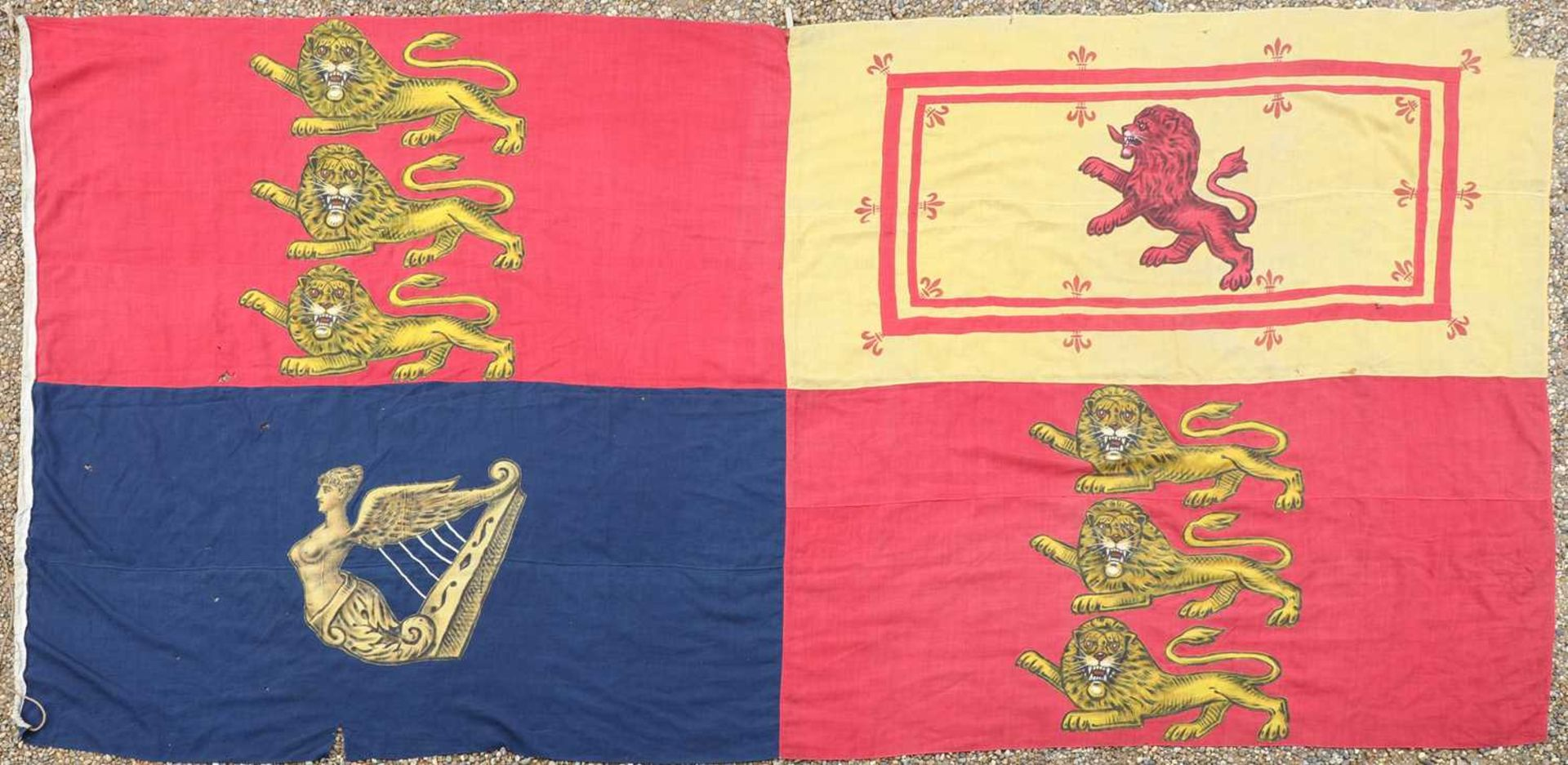 A RARE ROYAL STANDARD FLAG, - Image 2 of 2
