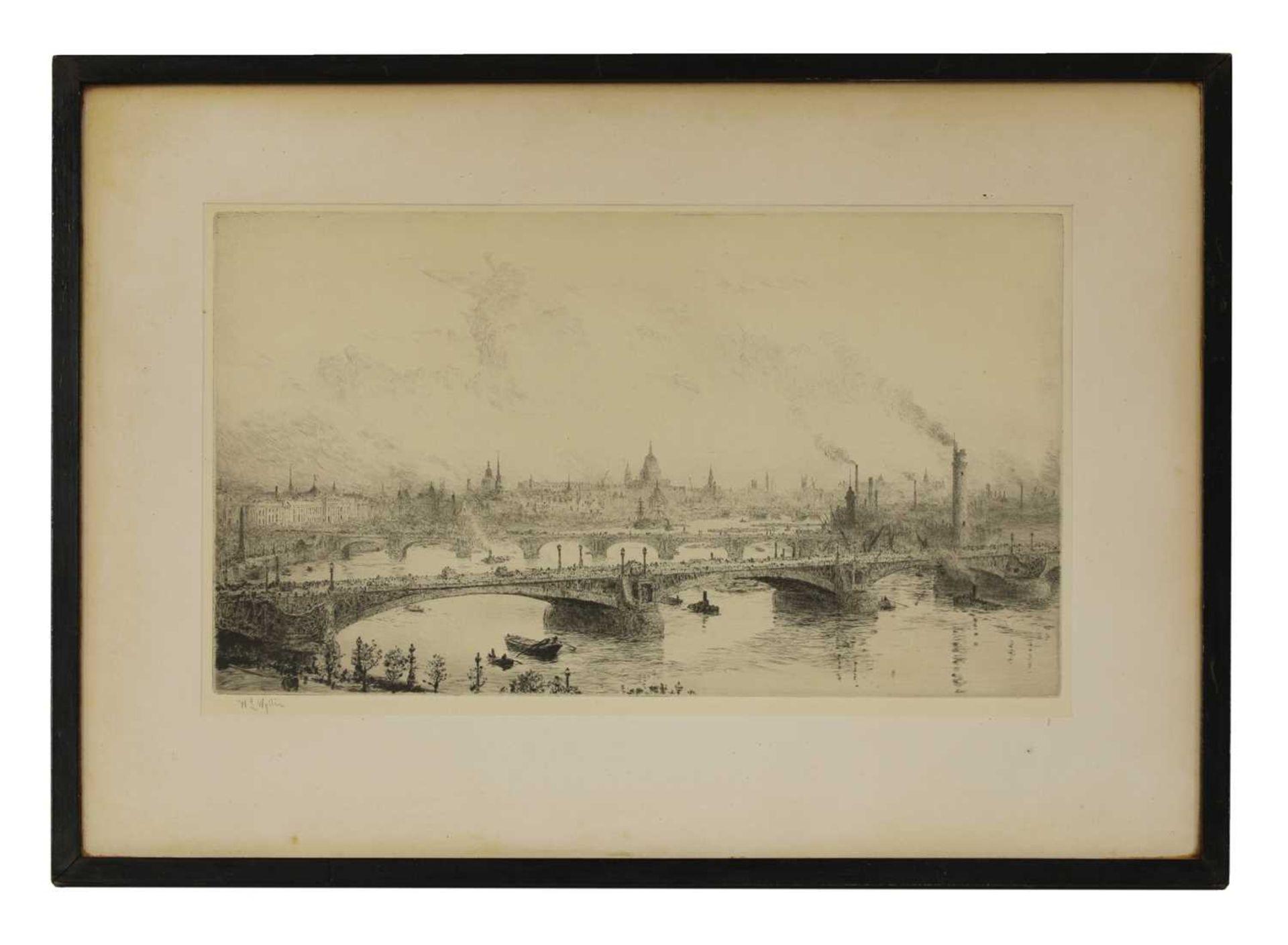 WILLIAM LIONEL WYLLIE (1851-1931 - Image 2 of 2