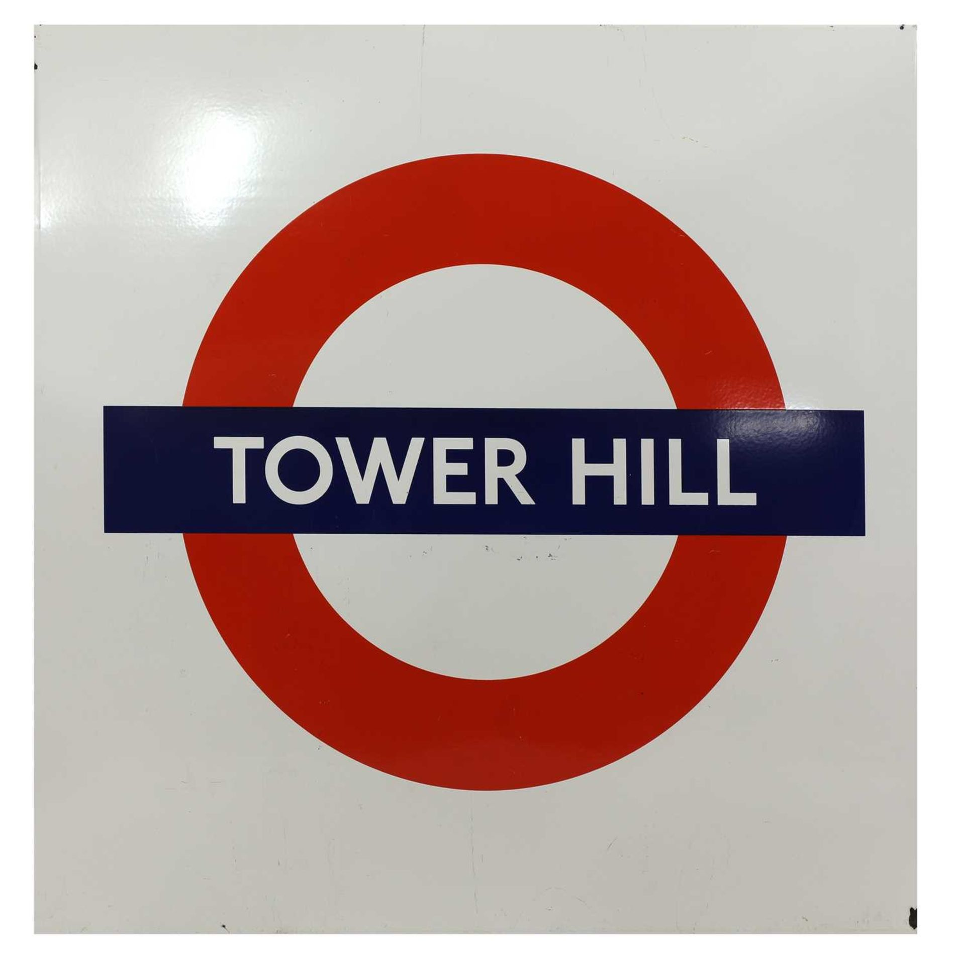 TOWER HILL STATION ROUNDEL,