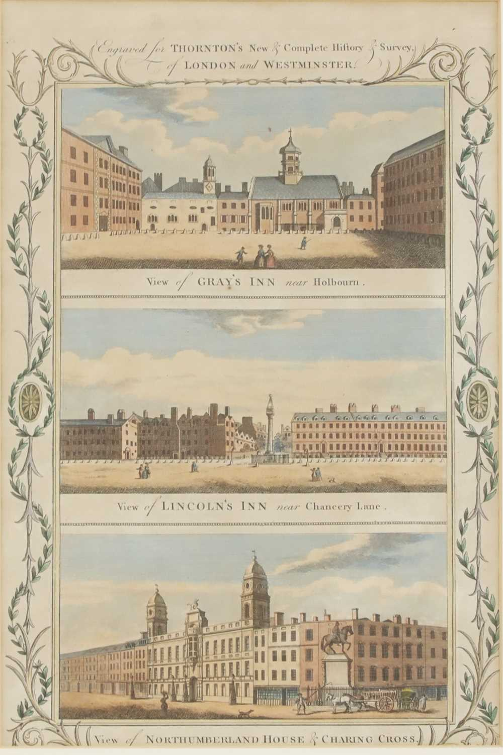 THORNTON'S 'NEW HISTORY & SURVEY OF LONDON AND WESTMINSTER' - Image 5 of 14