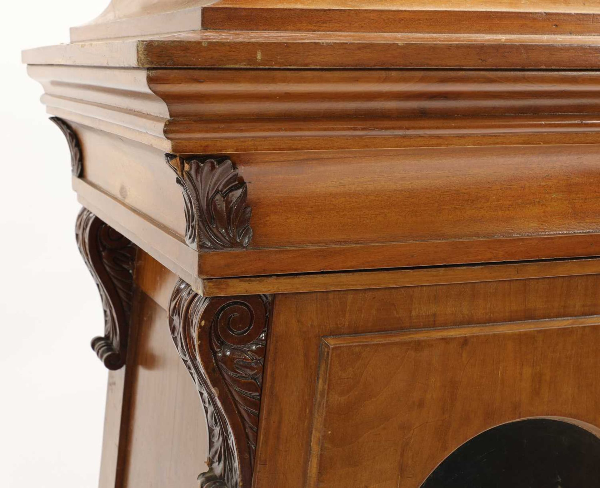 A pair of Victorian mahogany library bookcase pedestals, - Image 8 of 13