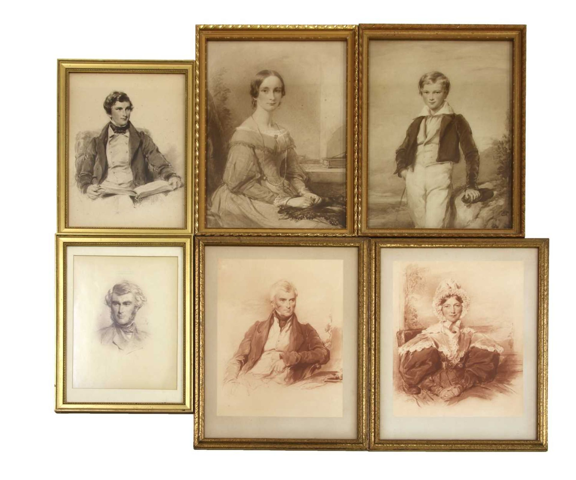 A collection of lithographic and photogravure portraits - Image 4 of 8
