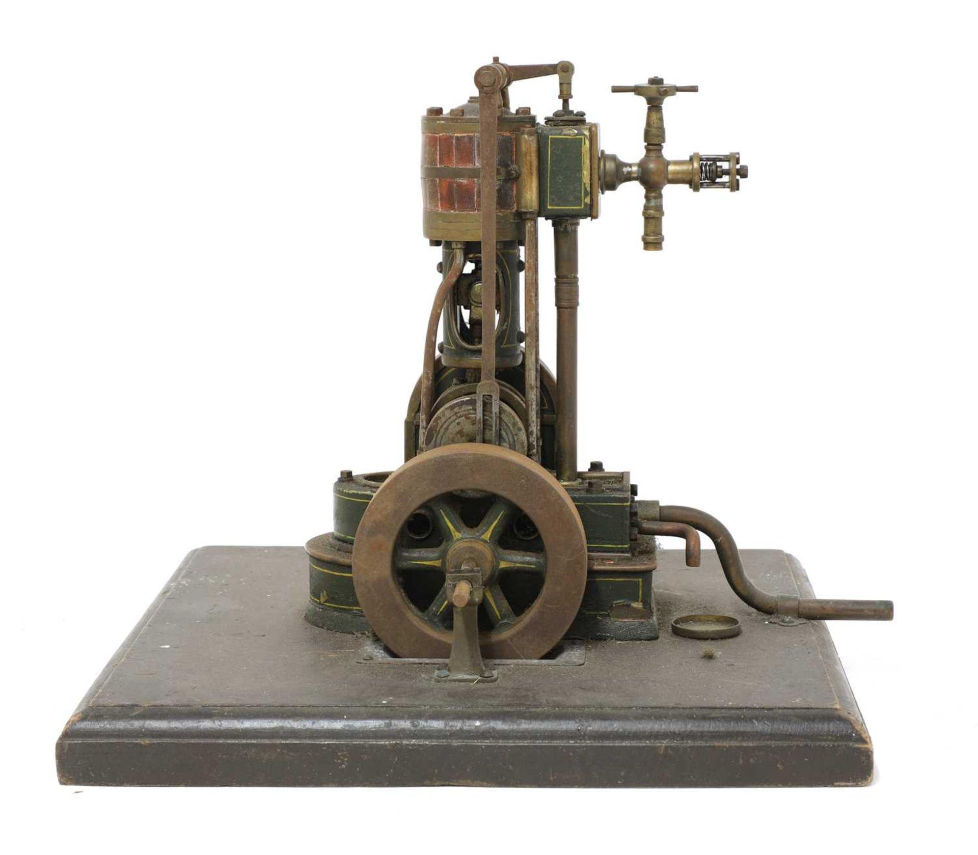 A vertical cylinder live steam engine, - Image 2 of 2