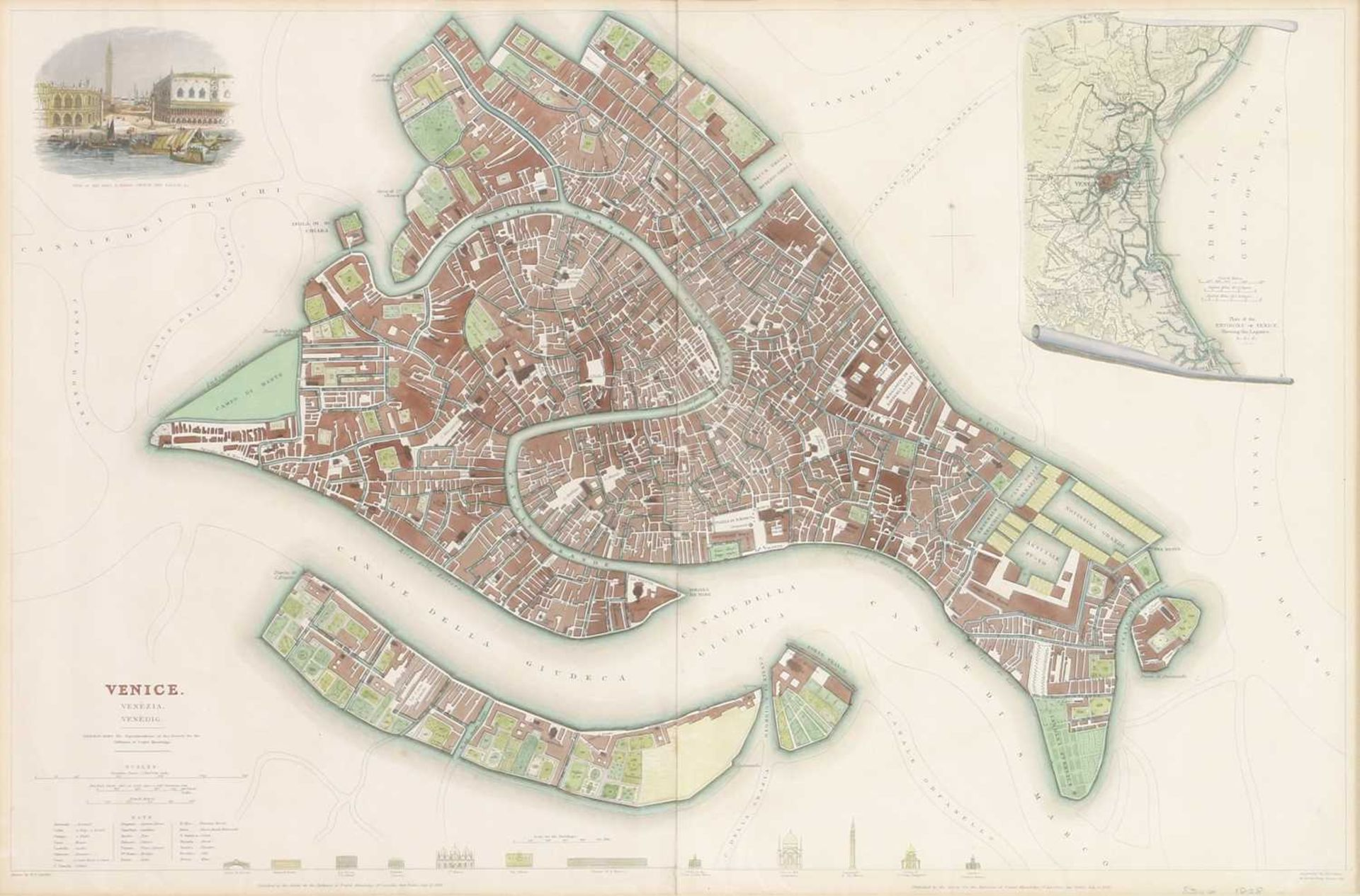 Four maps of Italian cities - Image 2 of 12