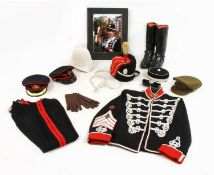 An officer's dress kit for the Light Cavalry, Honourable Artillery Company,