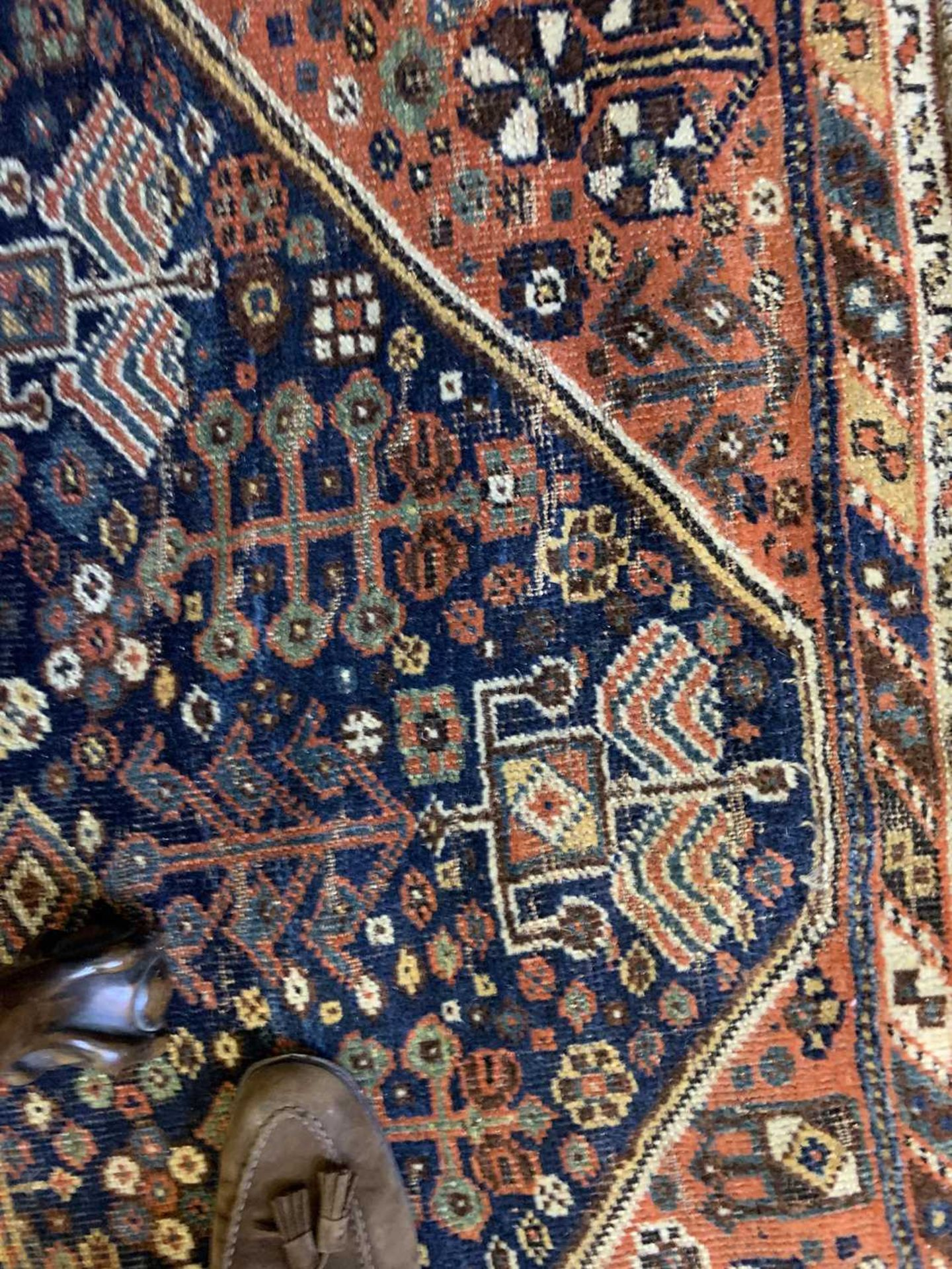 A Persian carpet, - Image 7 of 14