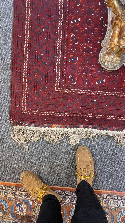 An Afghan Beshir rug, - Image 9 of 17