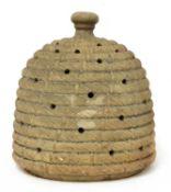 A Coade-stone-type beehive,