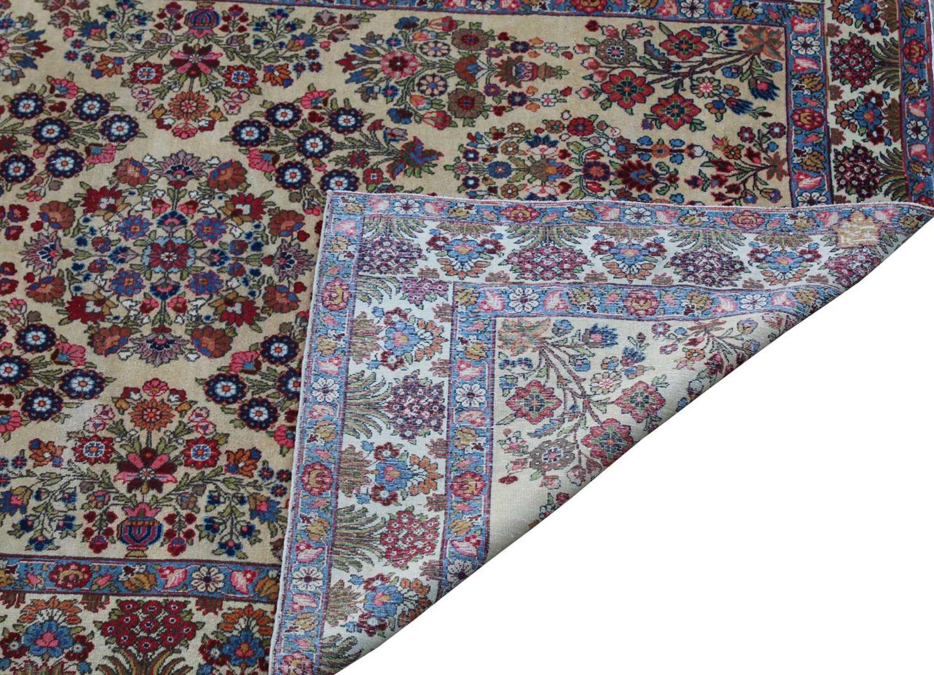 A Persian Tabriz carpet, - Image 3 of 3