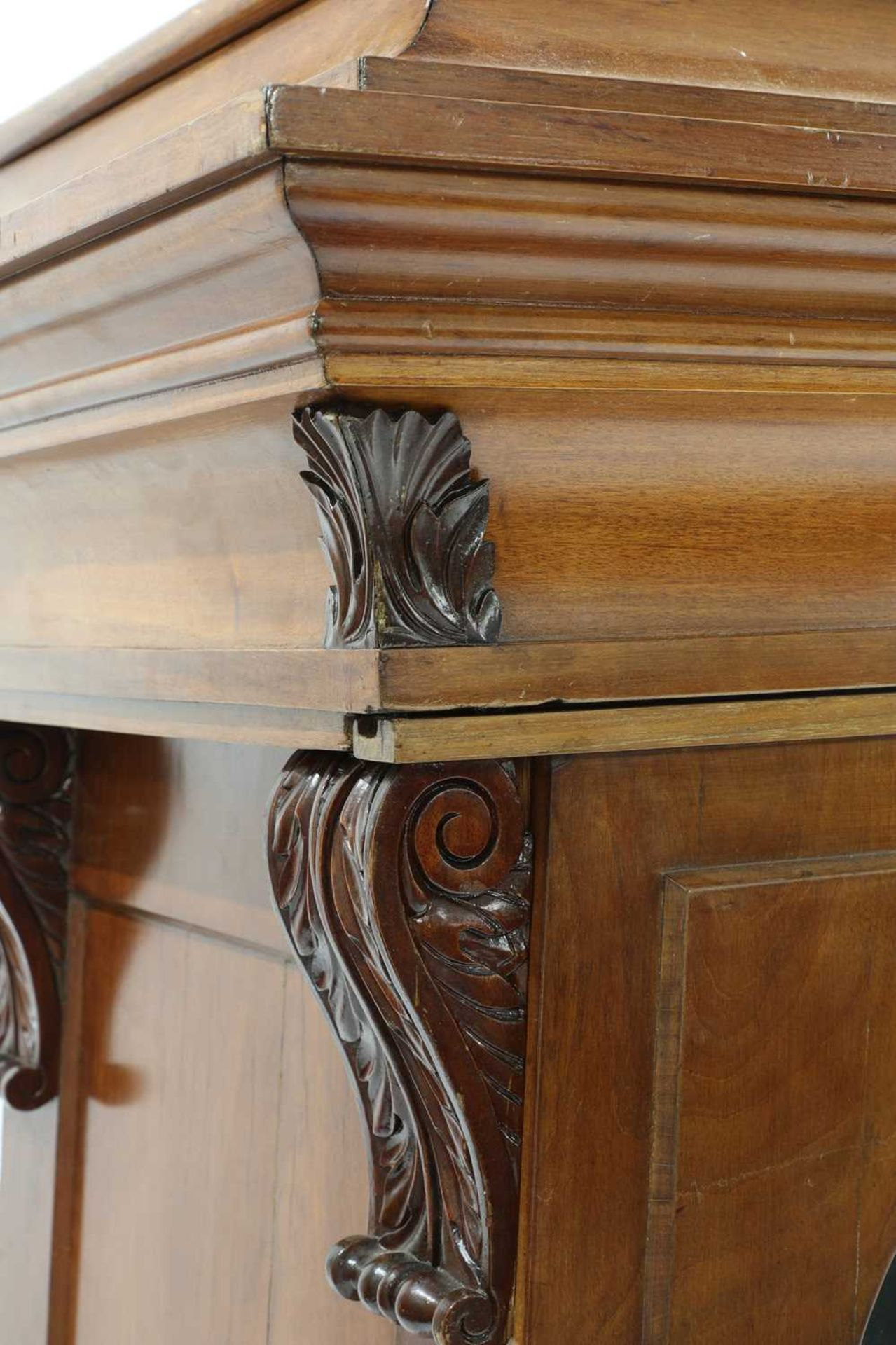 A pair of Victorian mahogany library bookcase pedestals, - Image 12 of 13