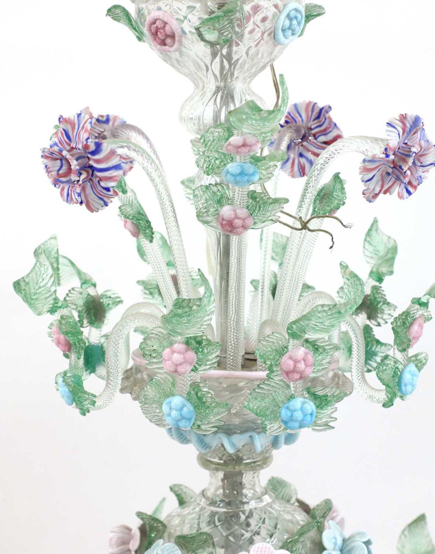 An impressive Murano chandelier, - Image 2 of 5