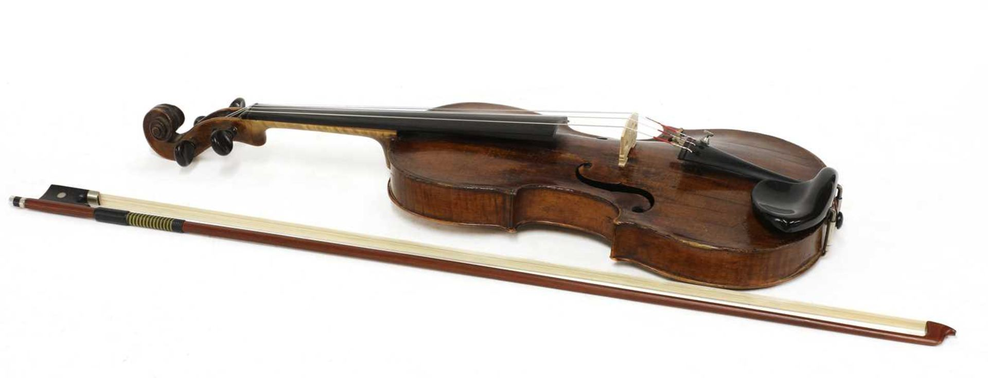 A violin, - Image 2 of 6