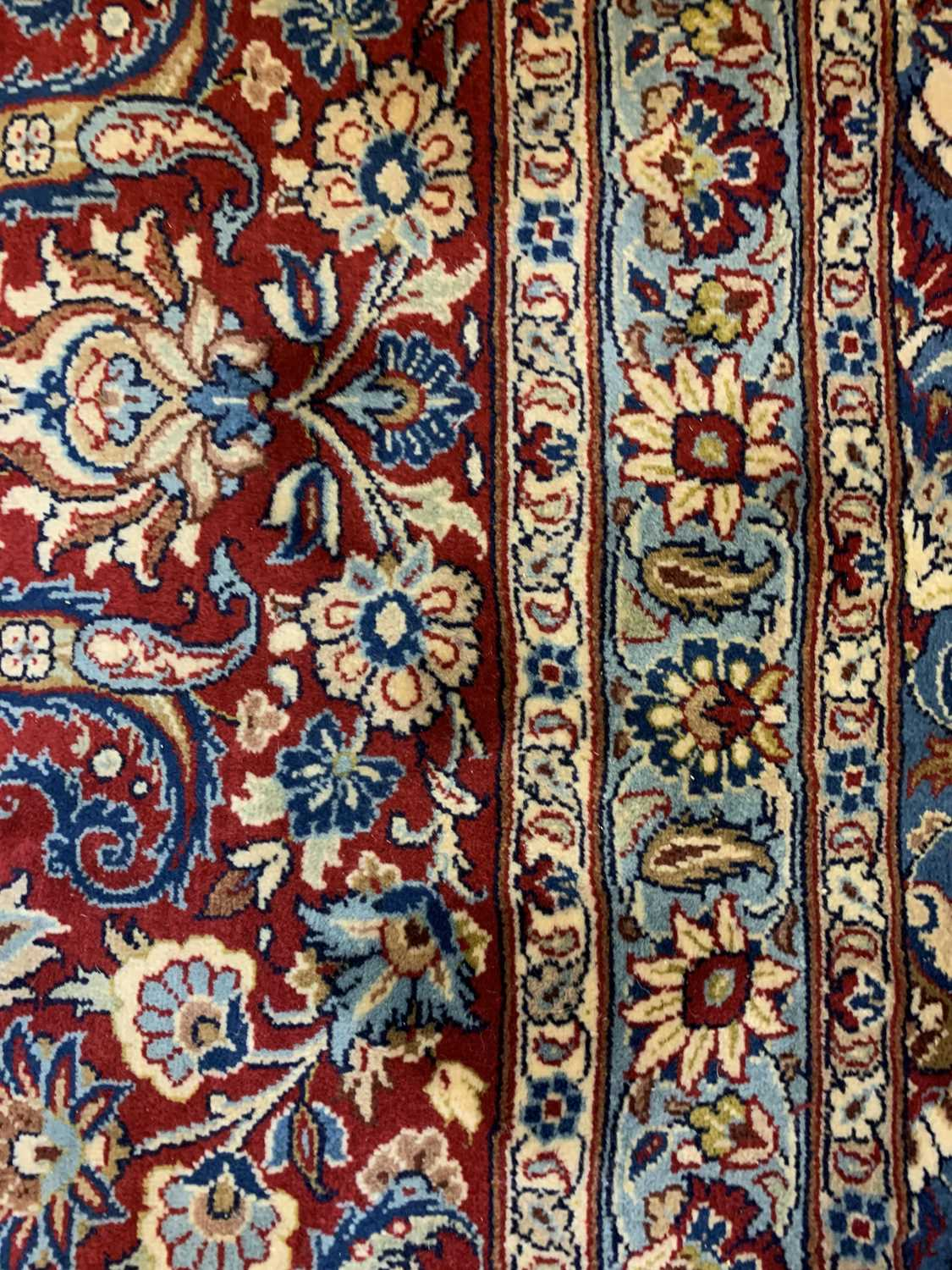 A large Persian Khorassan carpet, - Image 15 of 17