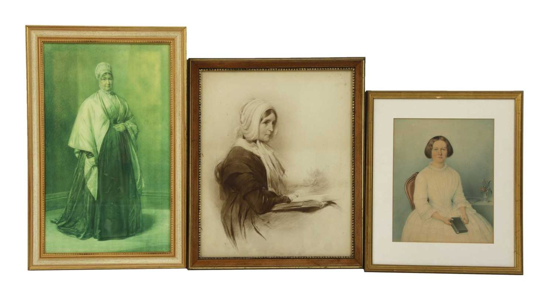 A collection of lithographic and photogravure portraits - Image 7 of 8