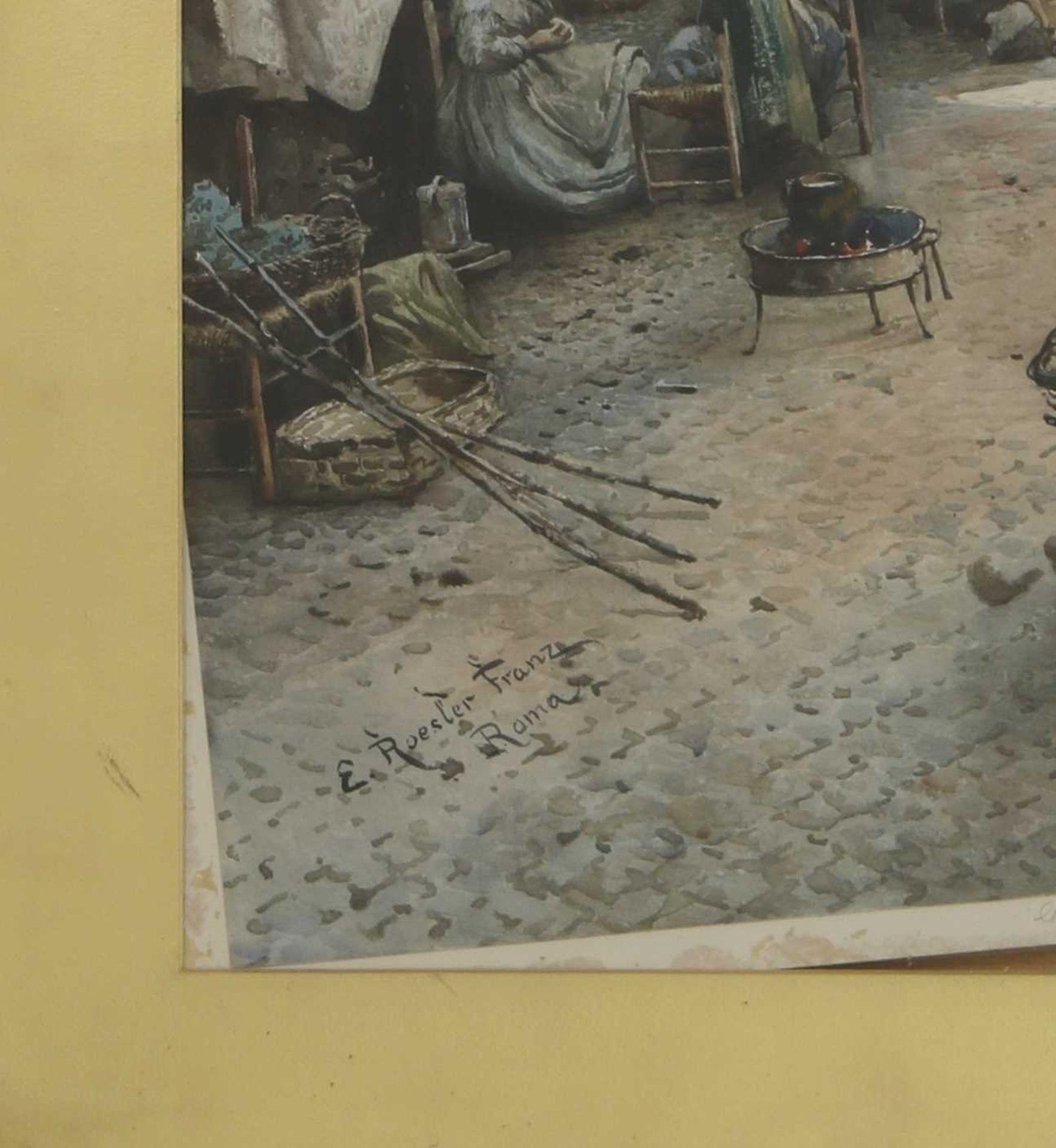 Ettore Roesler Franz (Italian, 1845-1907) - Image 6 of 10