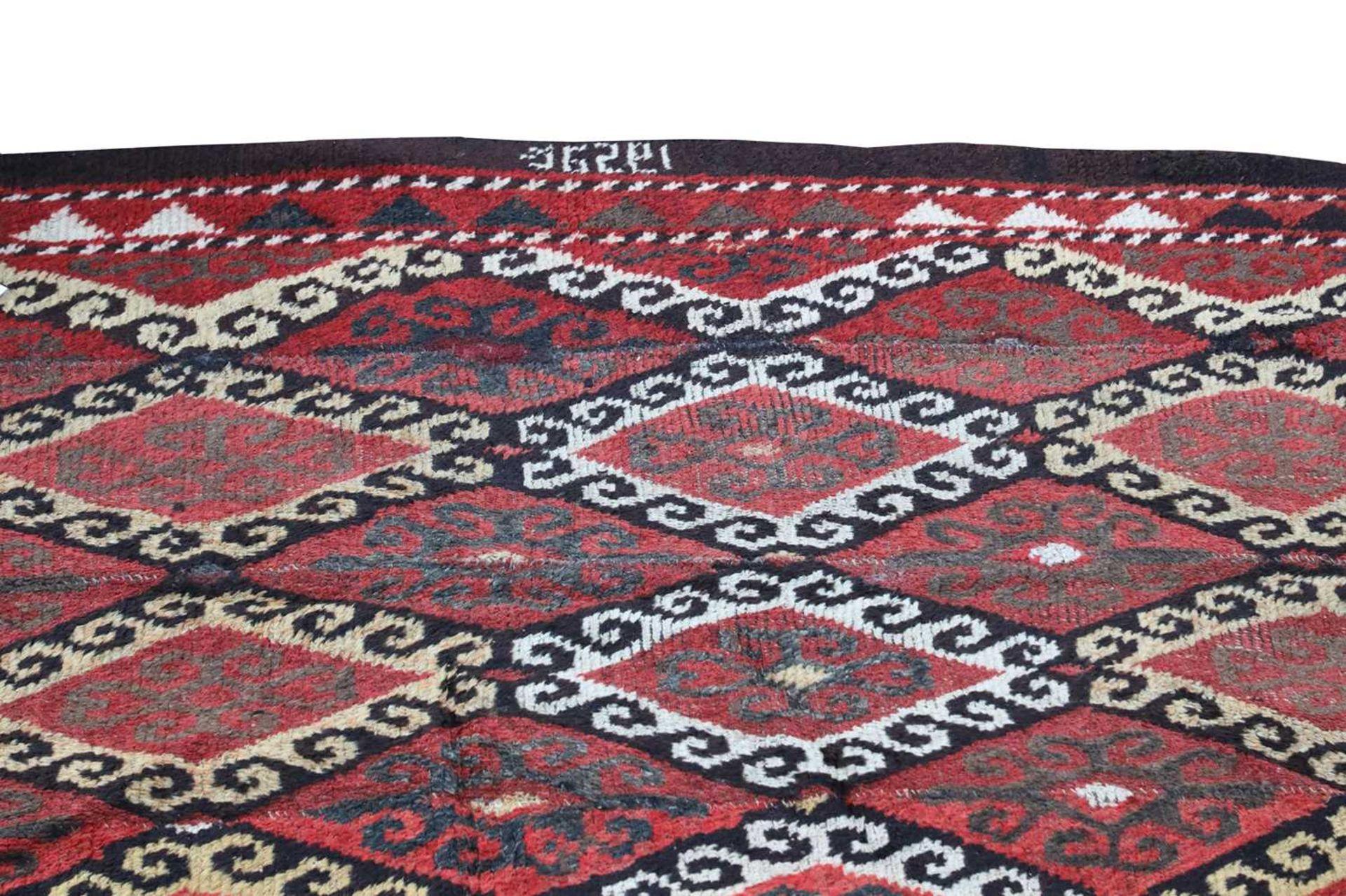 A yak wool rug, - Image 3 of 3