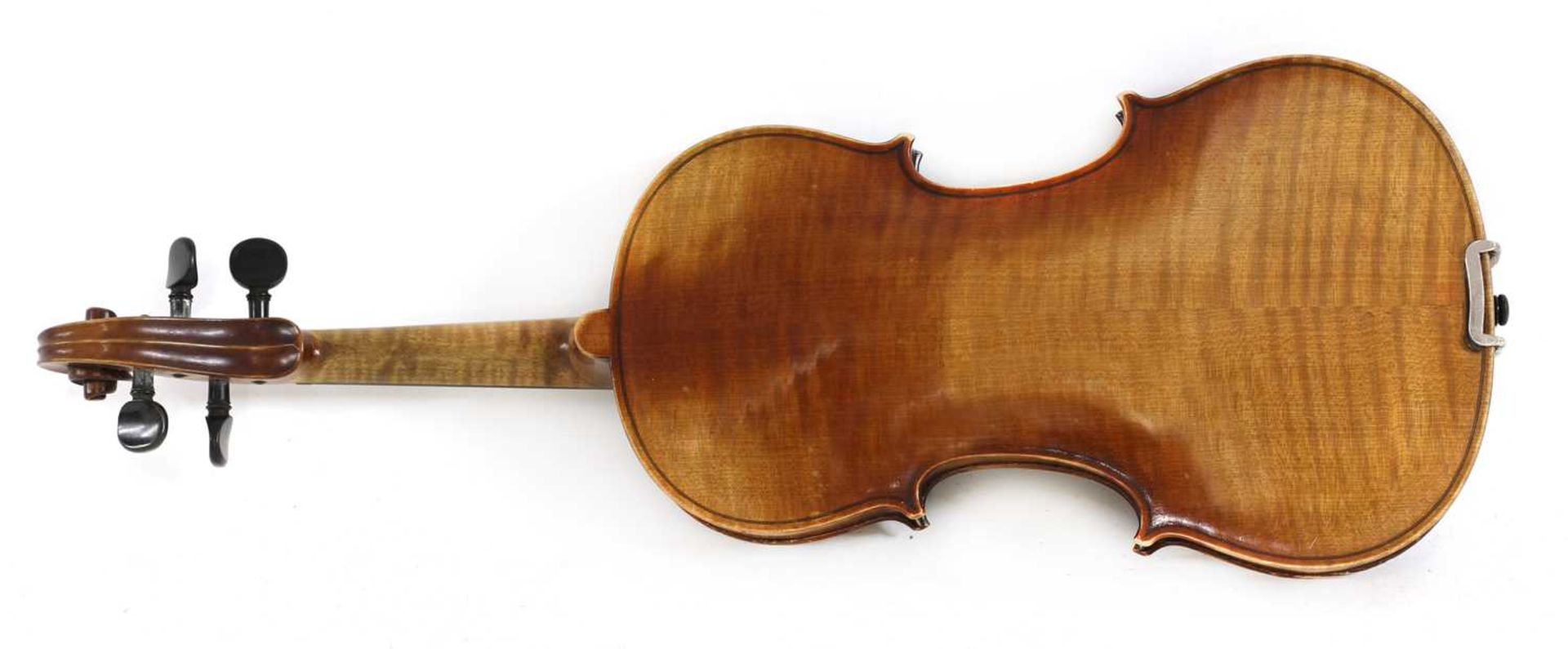 A Continental violin, - Image 7 of 7