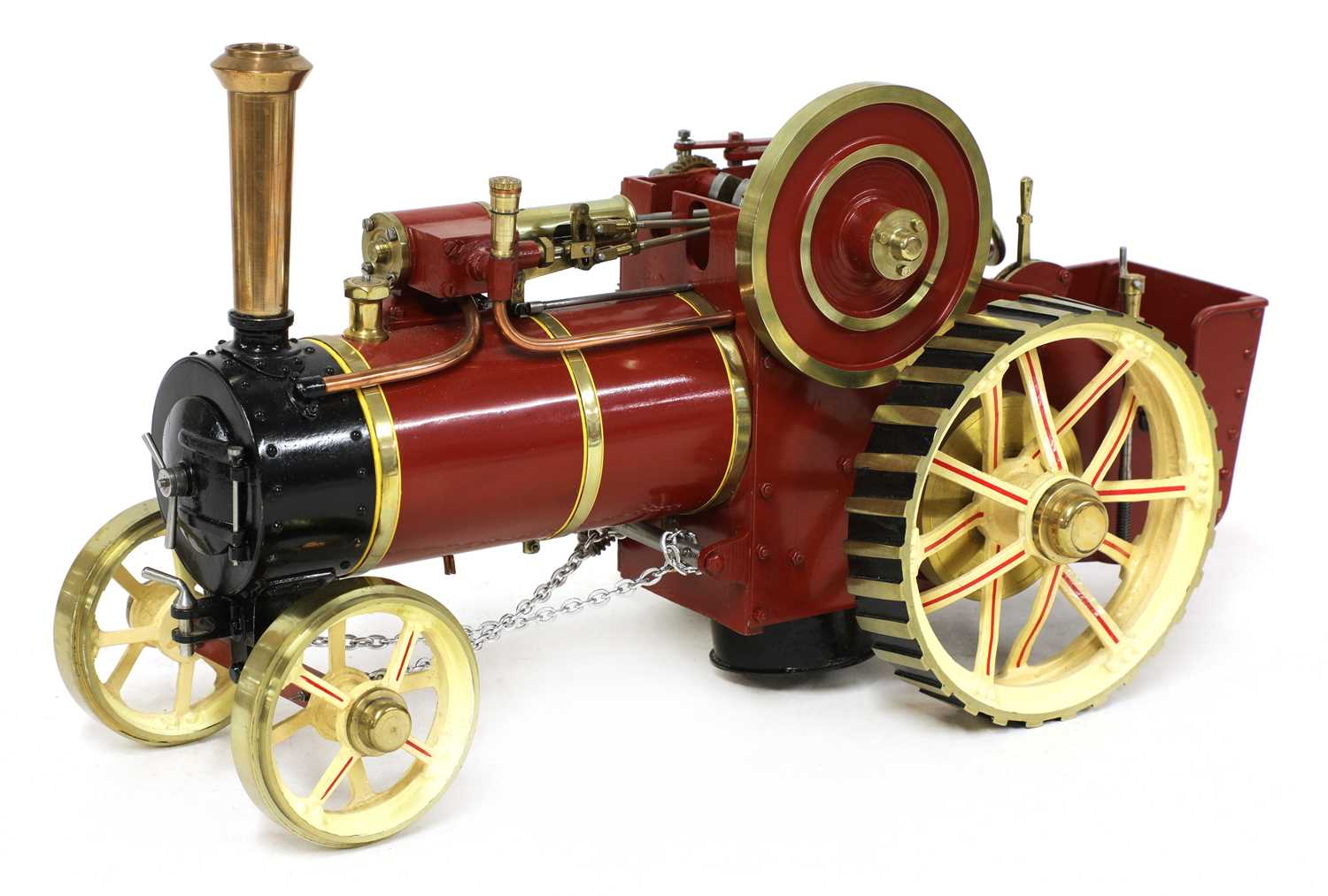 A ¾in scale model Burrell-type live steam traction engine, - Image 2 of 7