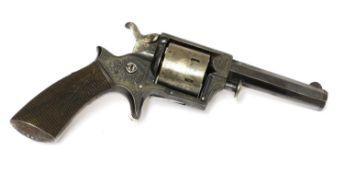 A Cogswell & Harrison Tranter Patent .32 (rimfire) revolver,