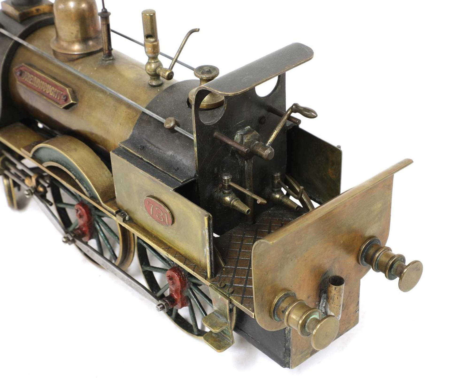A 3in gauge spirit-fired live steam 4-4-0 Stevens Model Dockyard locomotive no 731, 'Dreadnought', - Image 5 of 8