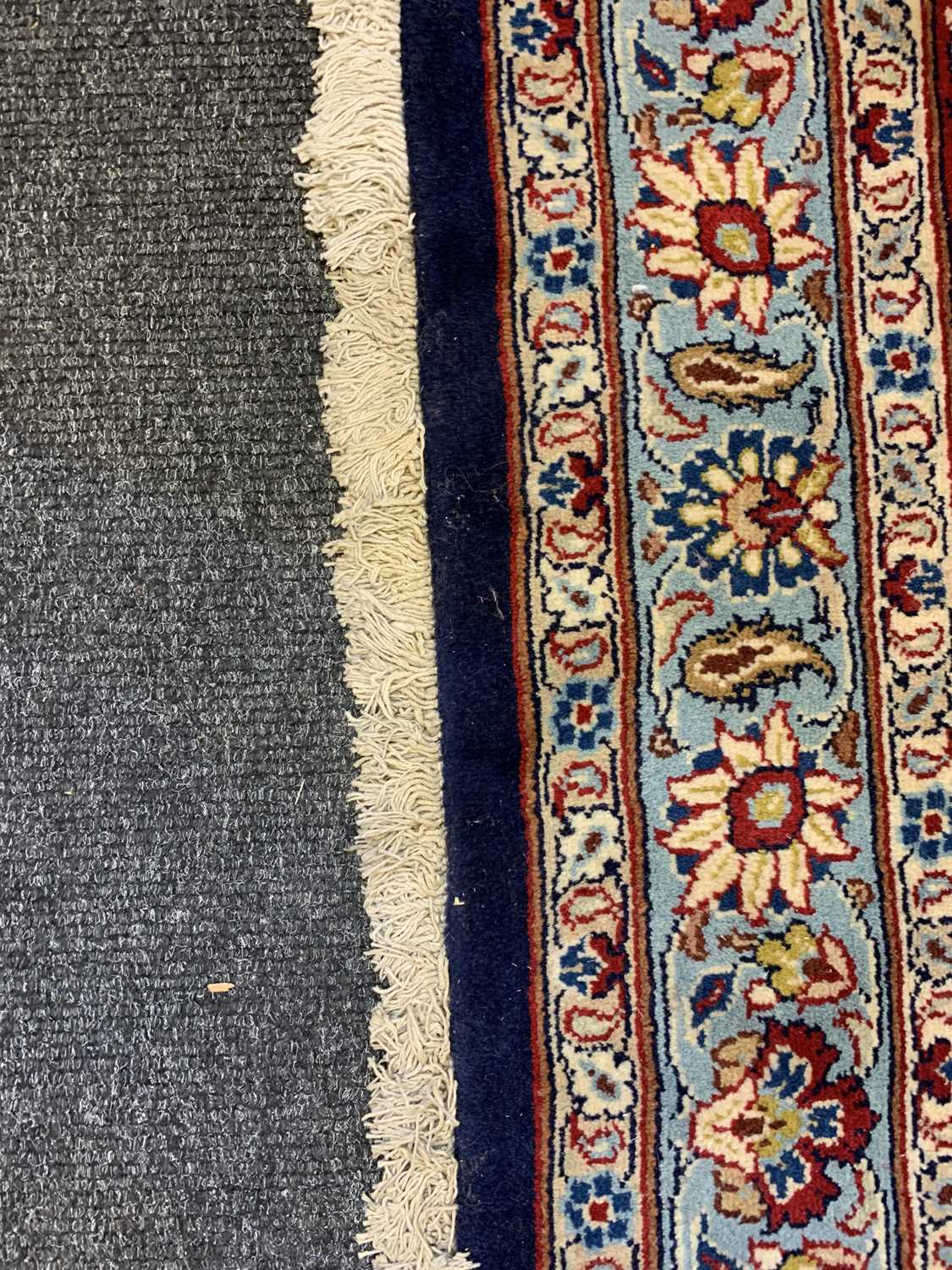 A large Persian Khorassan carpet, - Image 16 of 17