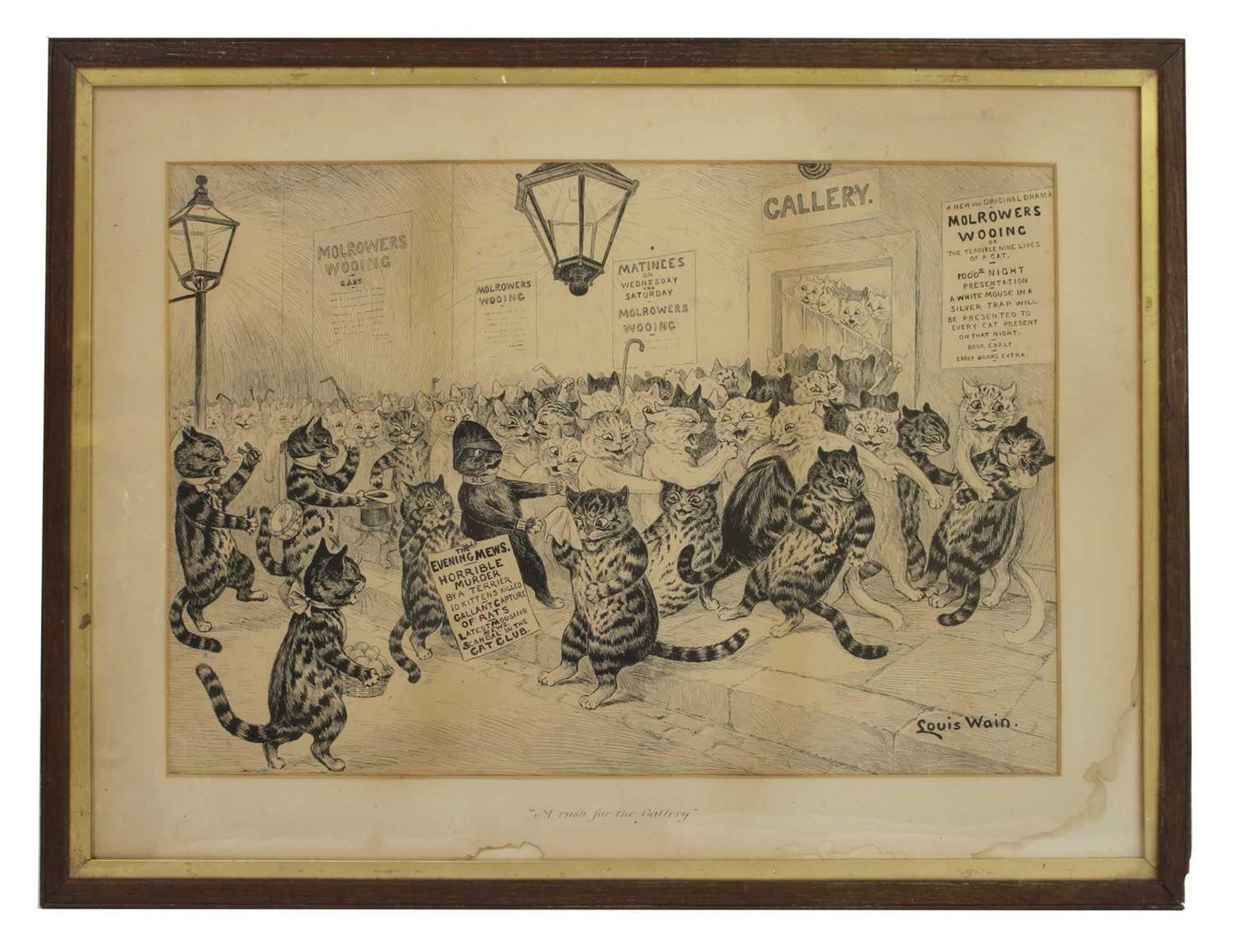 Louis Wain (1860-1939) - Image 2 of 3