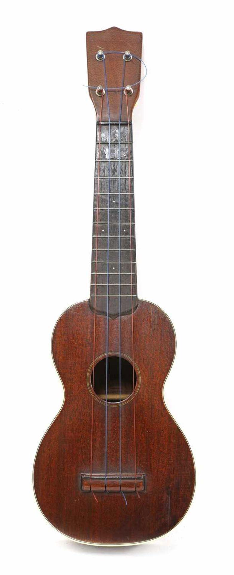 A Martin & Co. Style 2 ukulele,