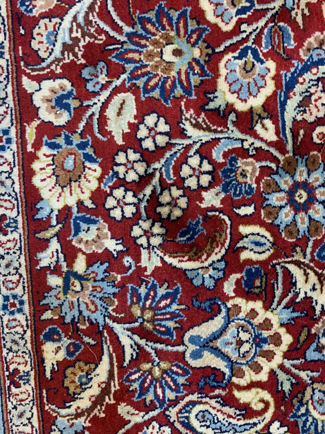 A large Persian Khorassan carpet, - Image 17 of 17