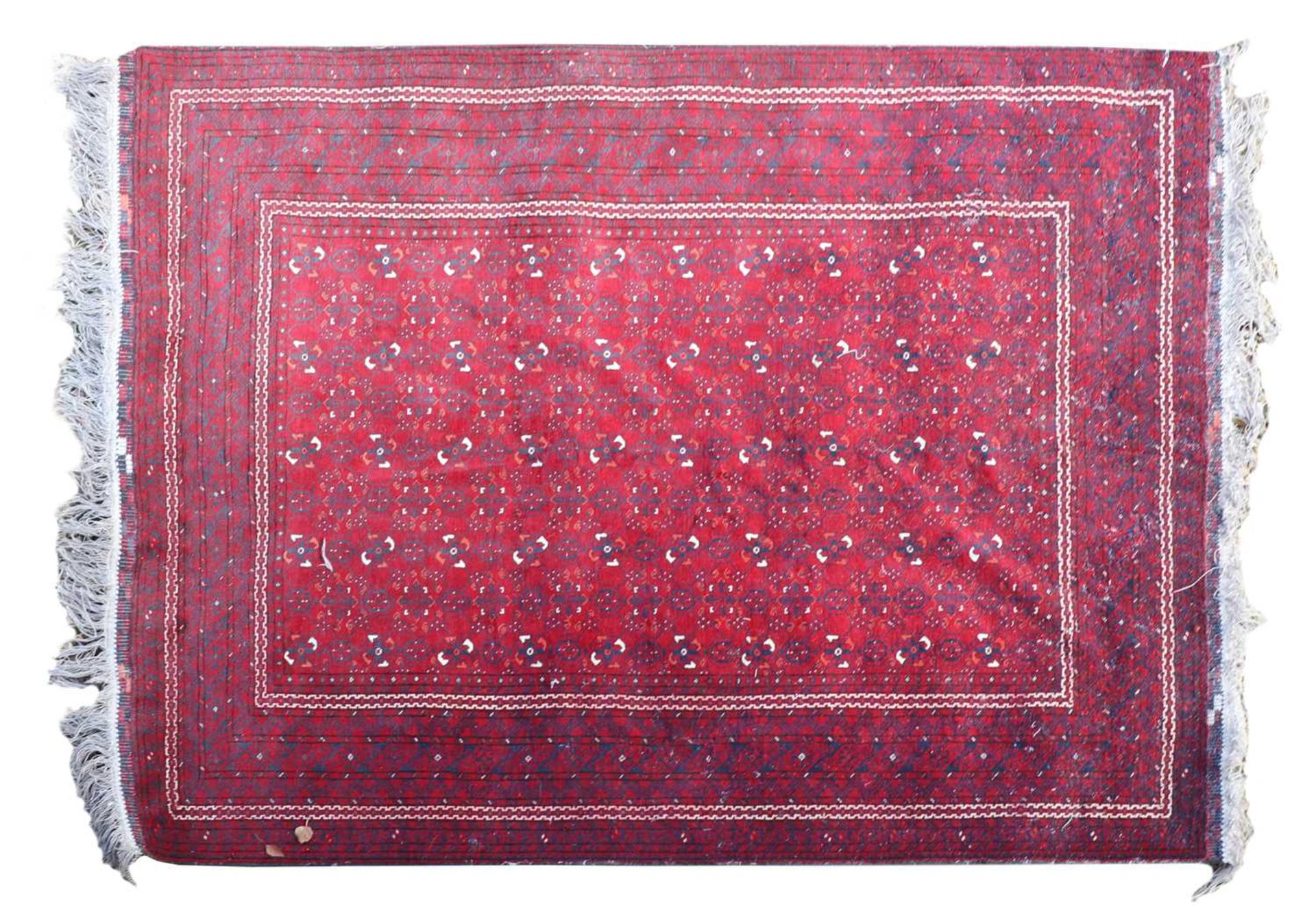An Afghan Beshir rug, - Image 2 of 17