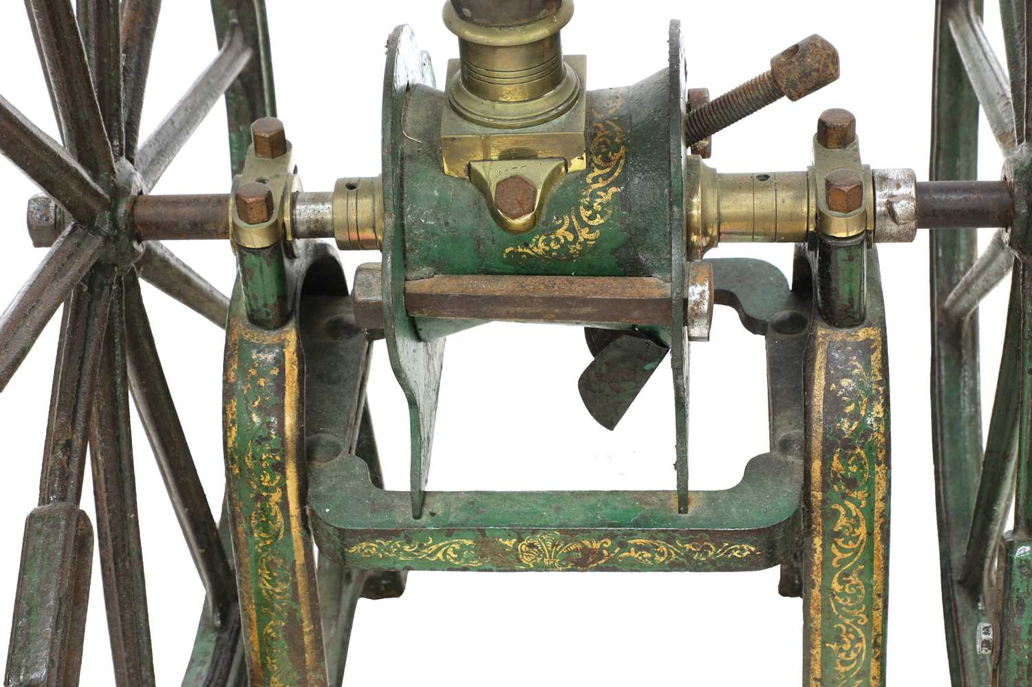 A large coffee grinder by Parnell & Sons, - Image 6 of 8