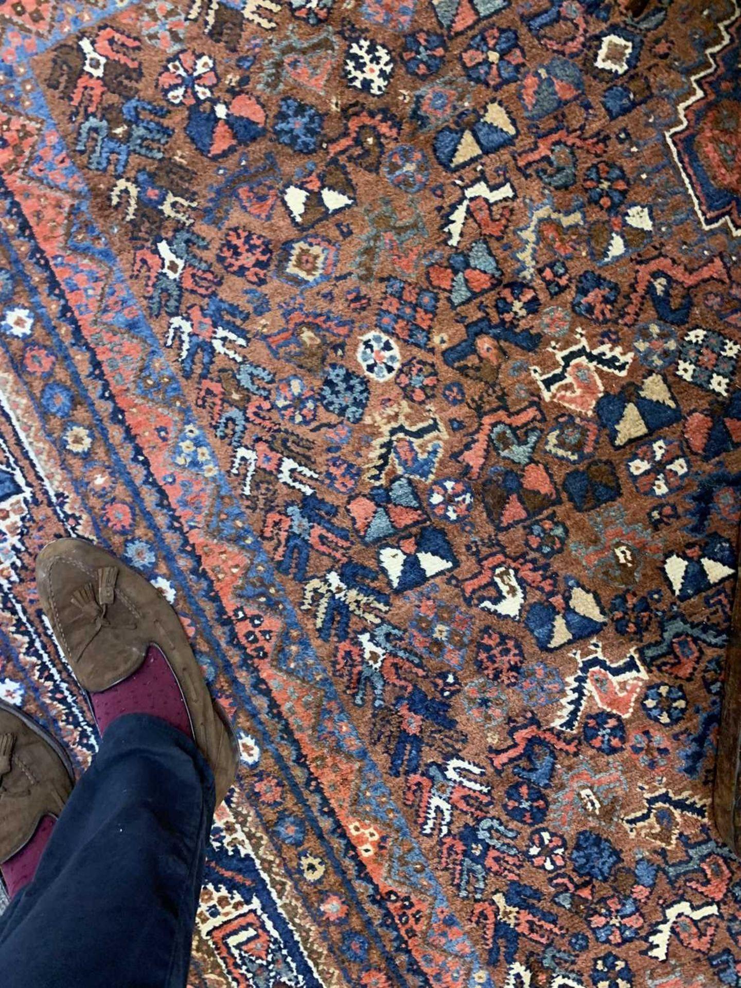 A South West Persian Khamseh carpet, - Image 7 of 17