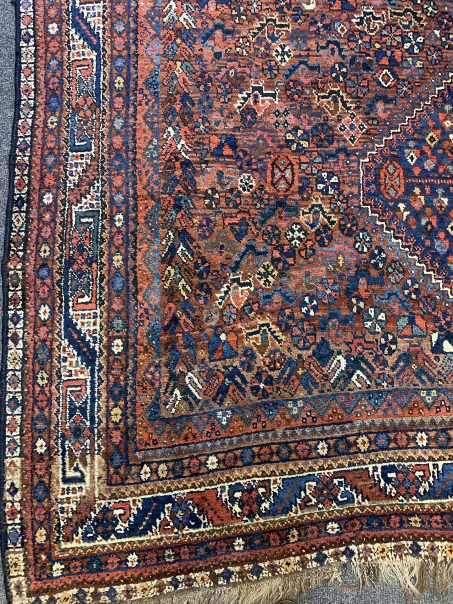 A South West Persian Khamseh carpet, - Image 11 of 17