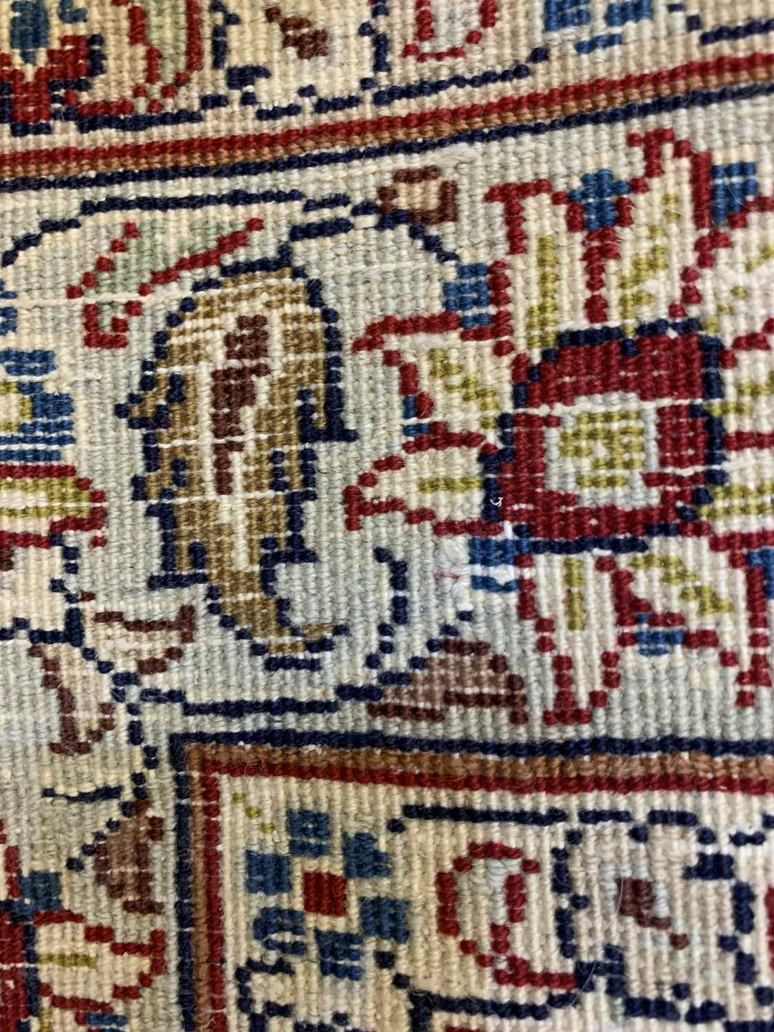 A large Persian Khorassan carpet, - Image 14 of 17