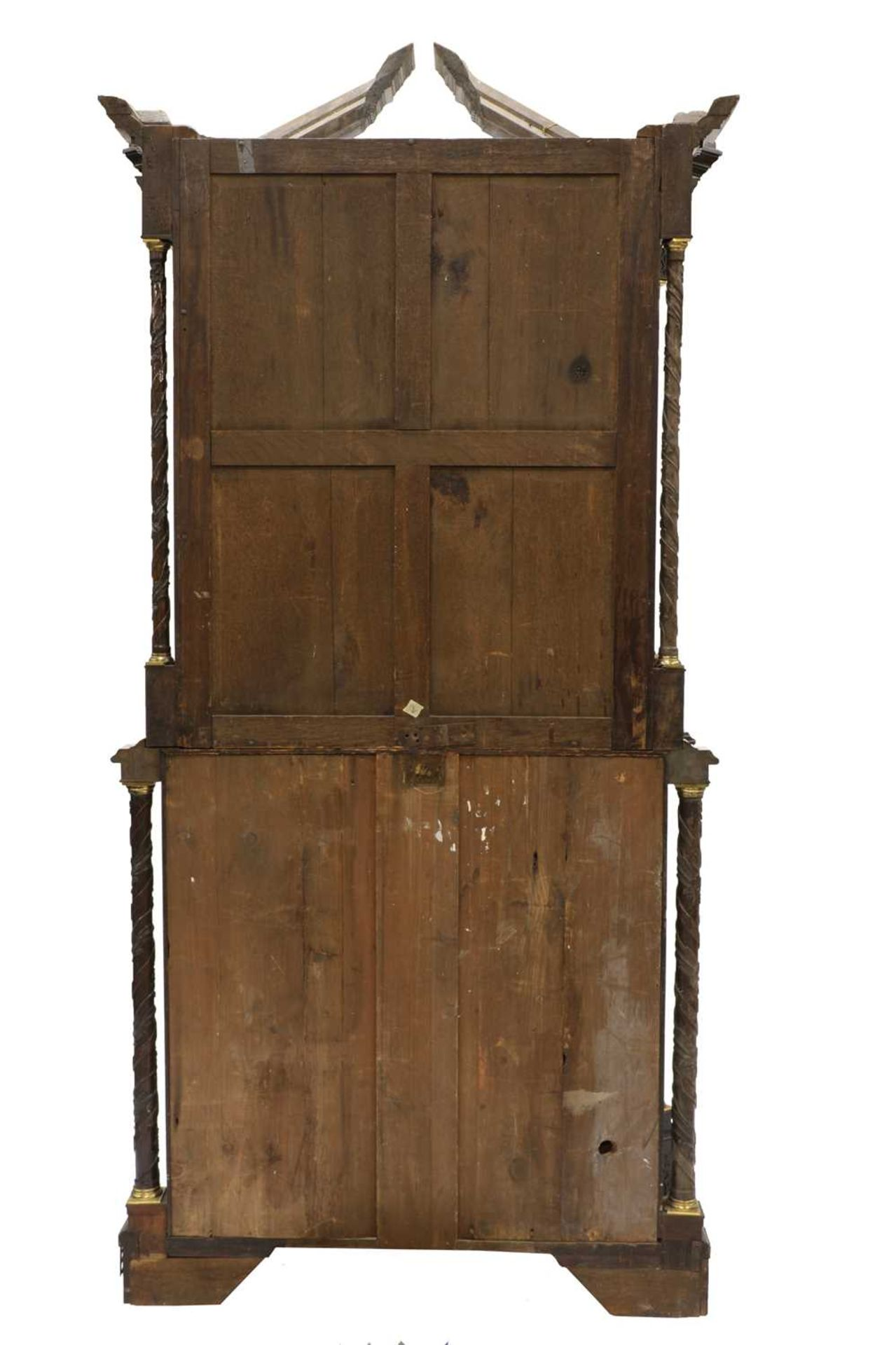 A Chippendale period mahogany secretaire bookcase, - Image 4 of 9
