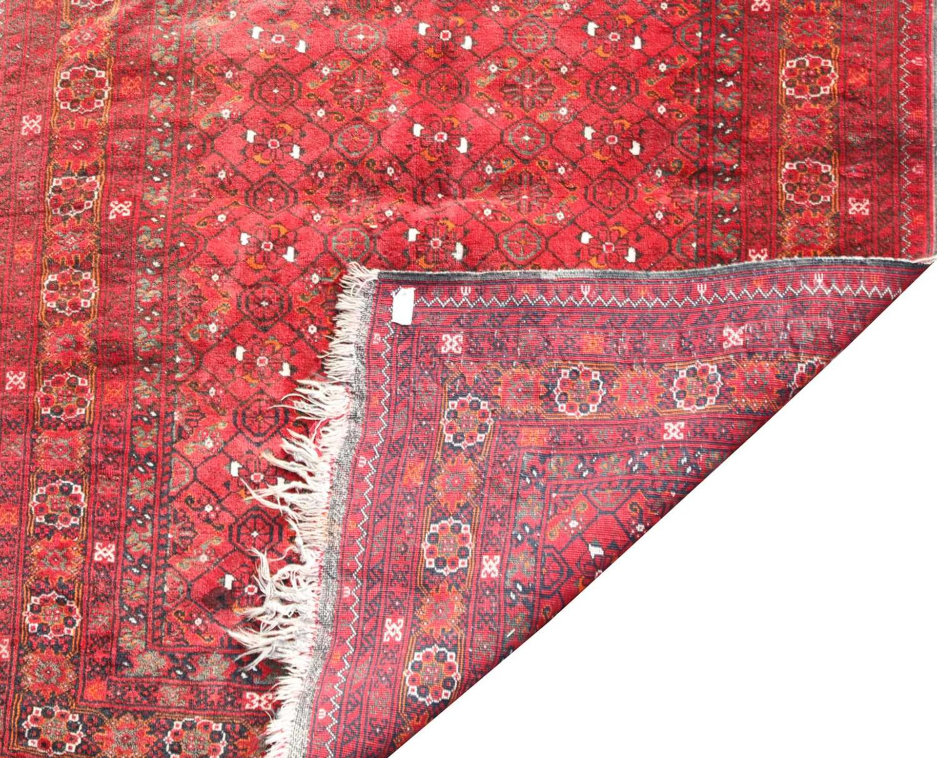 An Afghan Beshir rug, - Image 3 of 4