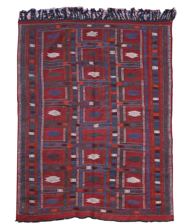 An Azerbaijan kilim,