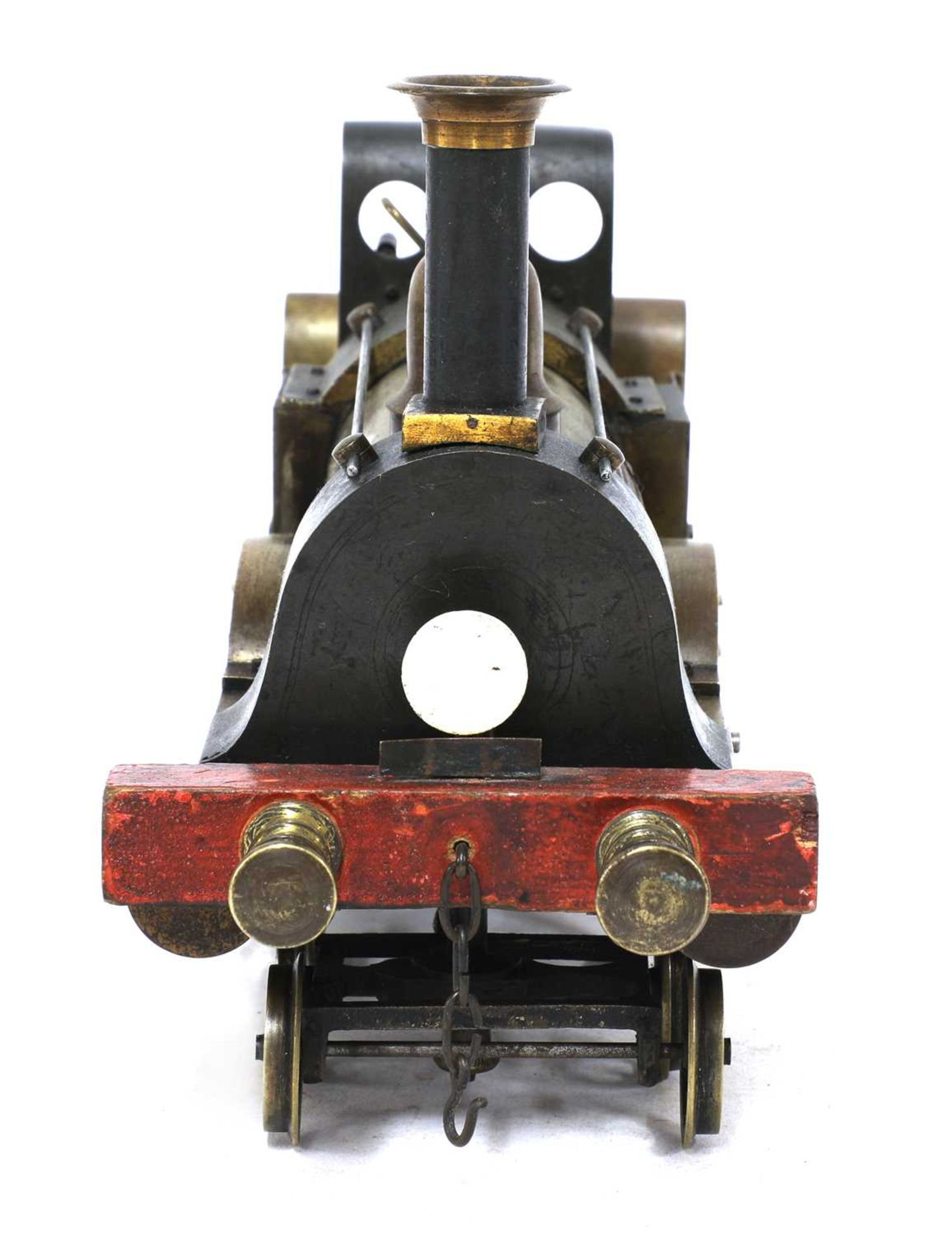 A 3in gauge spirit-fired live steam 4-4-0 Stevens Model Dockyard locomotive no 731, 'Dreadnought', - Image 6 of 8