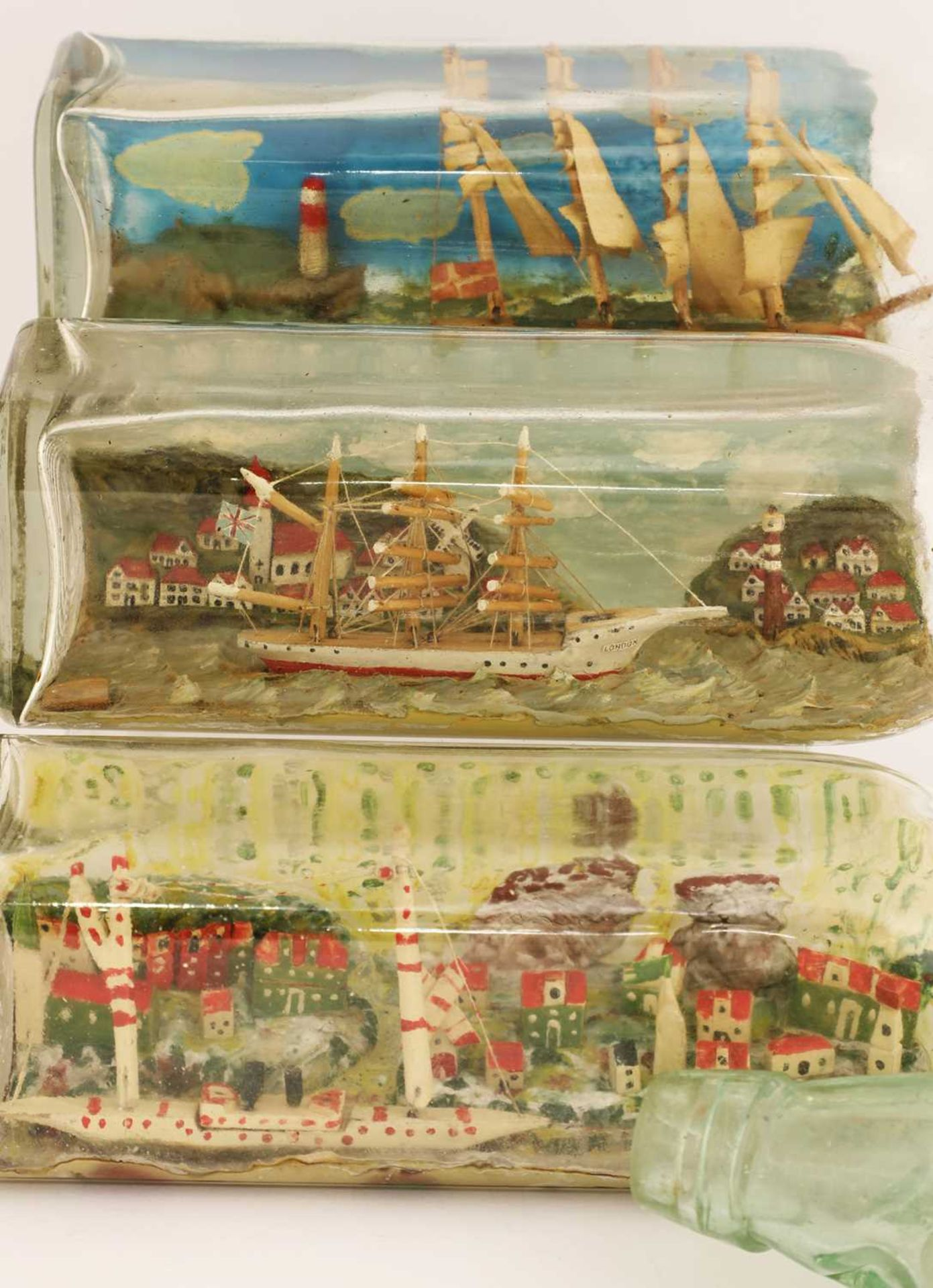 Four ships in bottles - Image 3 of 3