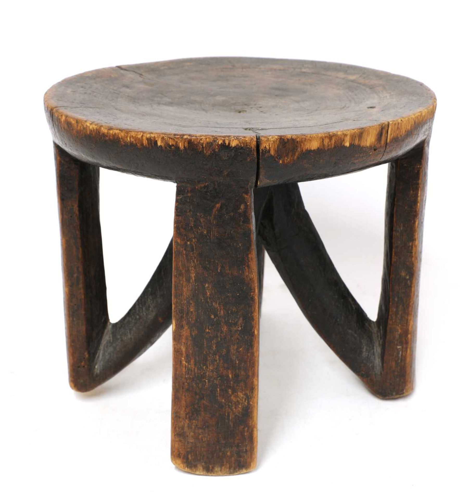 An East African tribal stool, - Image 3 of 4