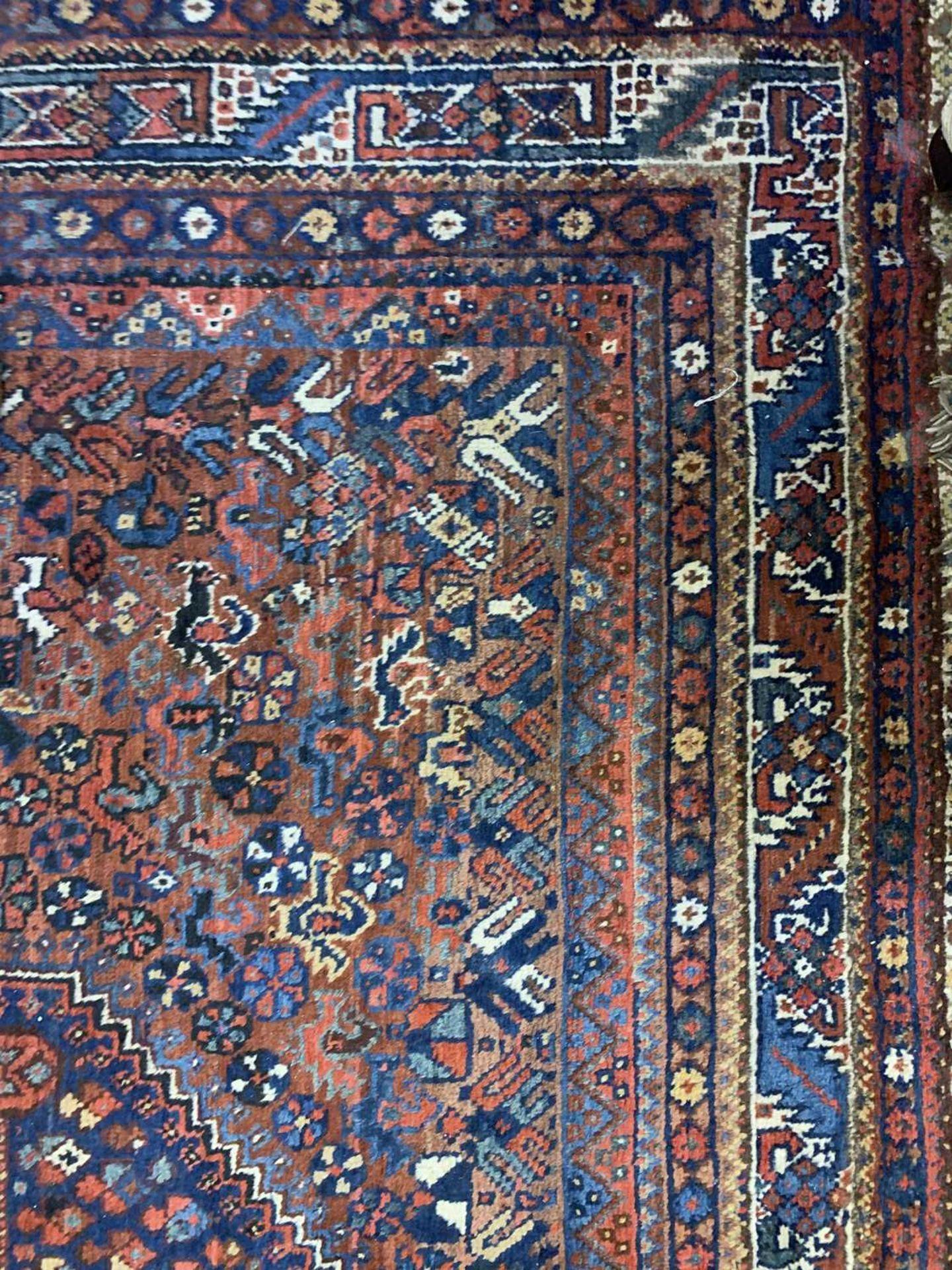 A South West Persian Khamseh carpet, - Image 4 of 17