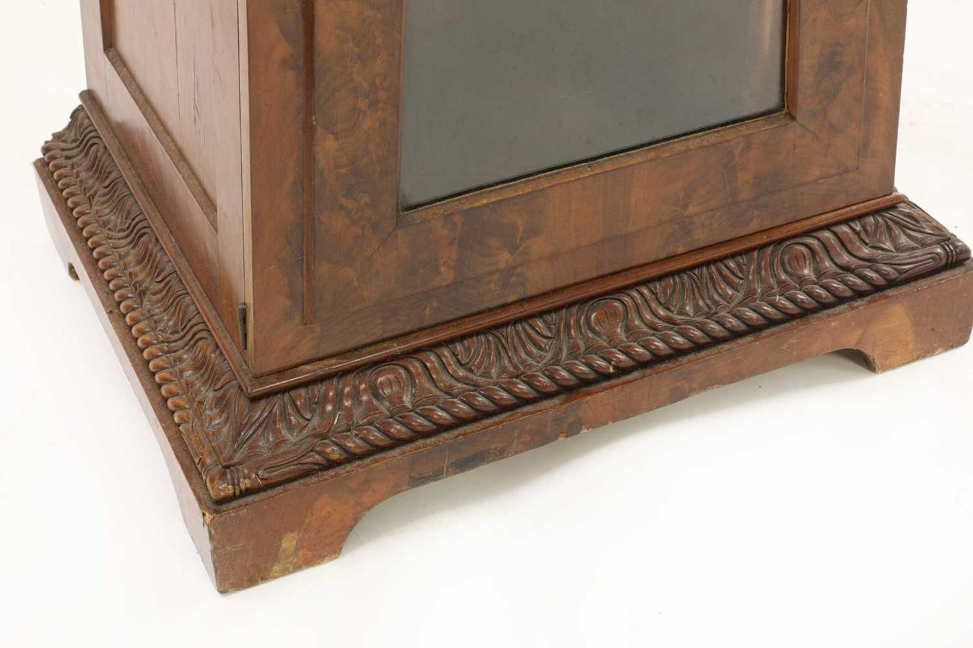 A pair of Victorian mahogany library bookcase pedestals, - Image 9 of 13