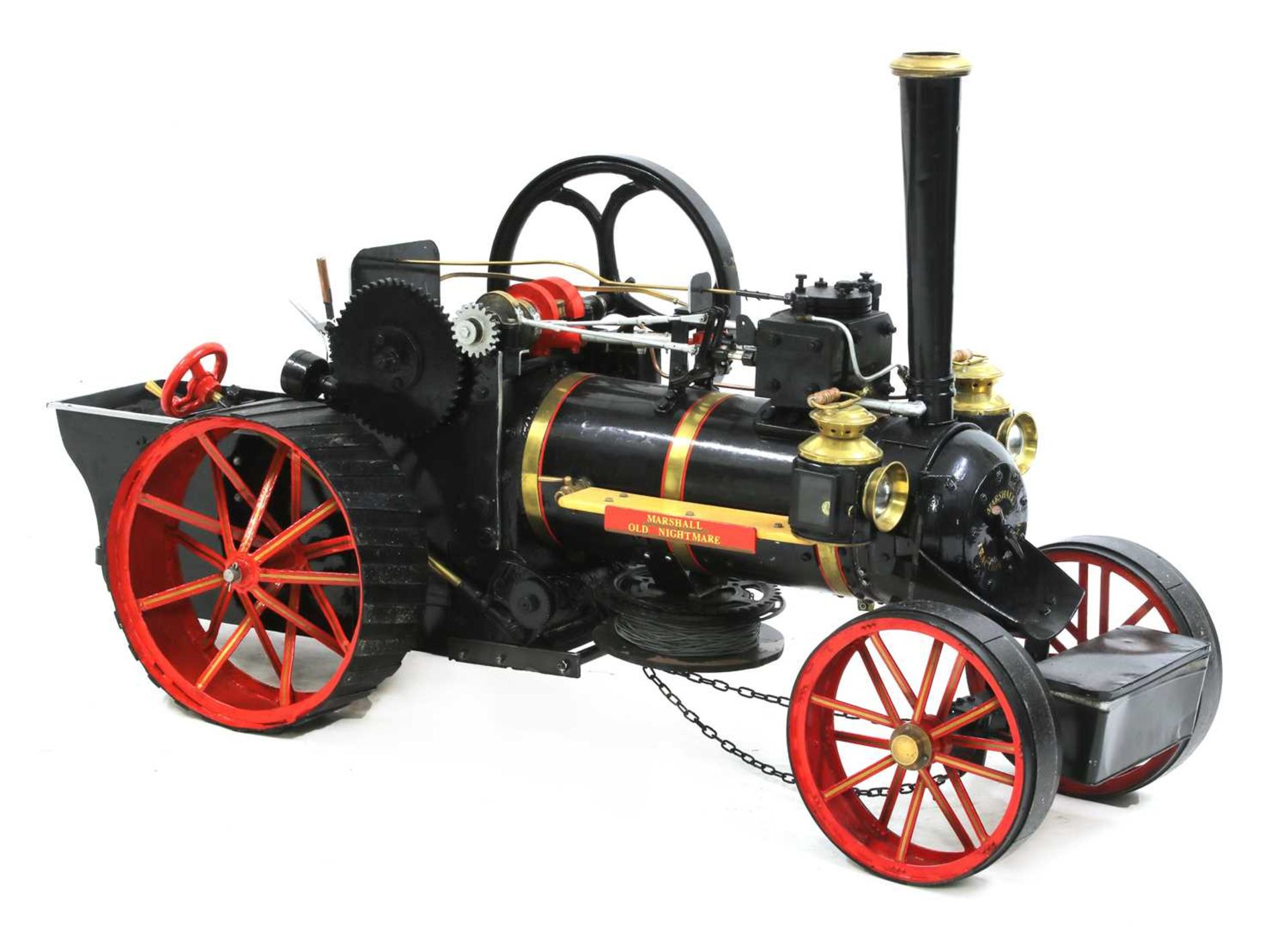 A 3in scale model of a Marshall traction engine 'Old Nightmare',