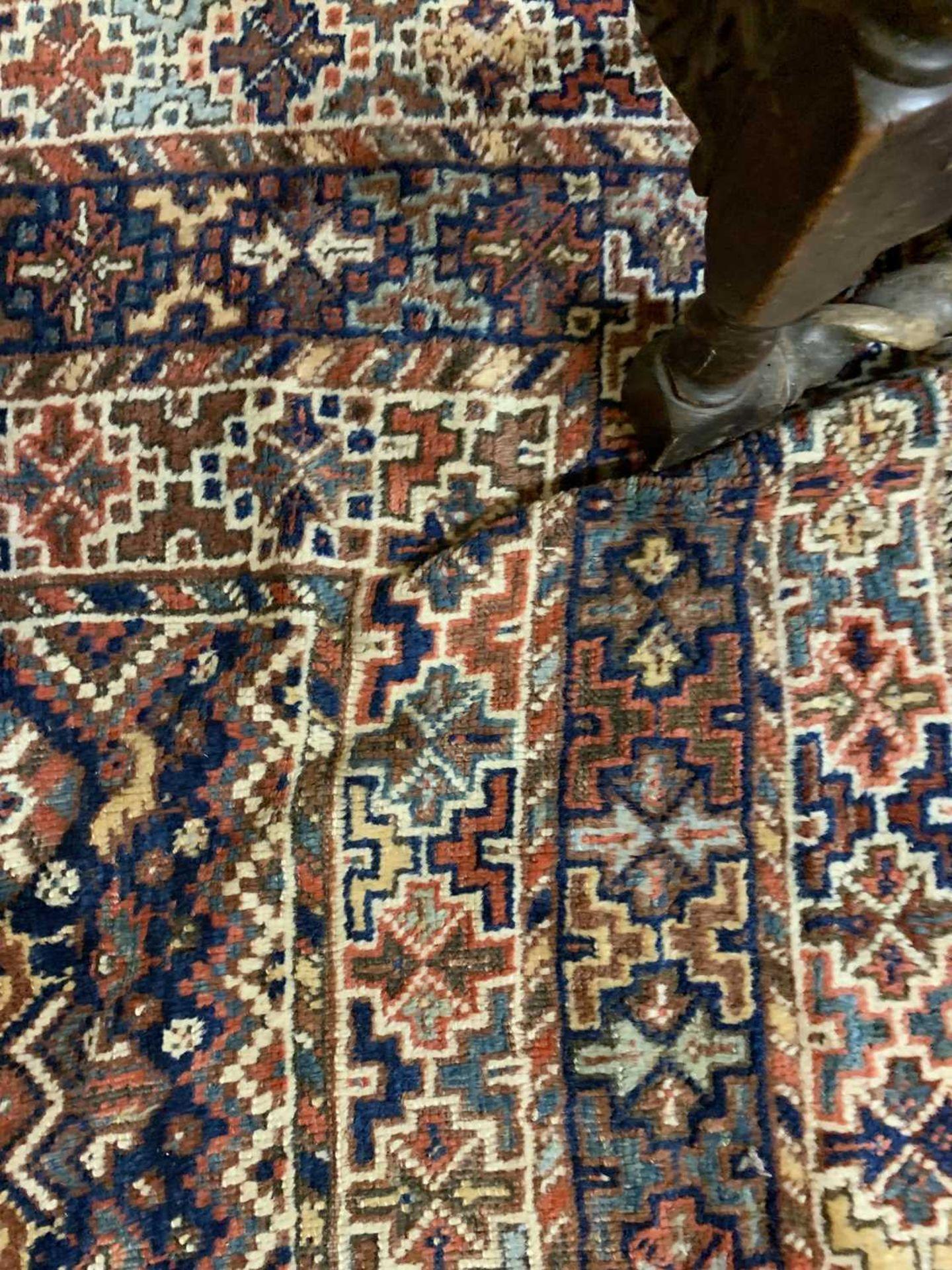 A Persian Khamseh carpet, - Image 3 of 15