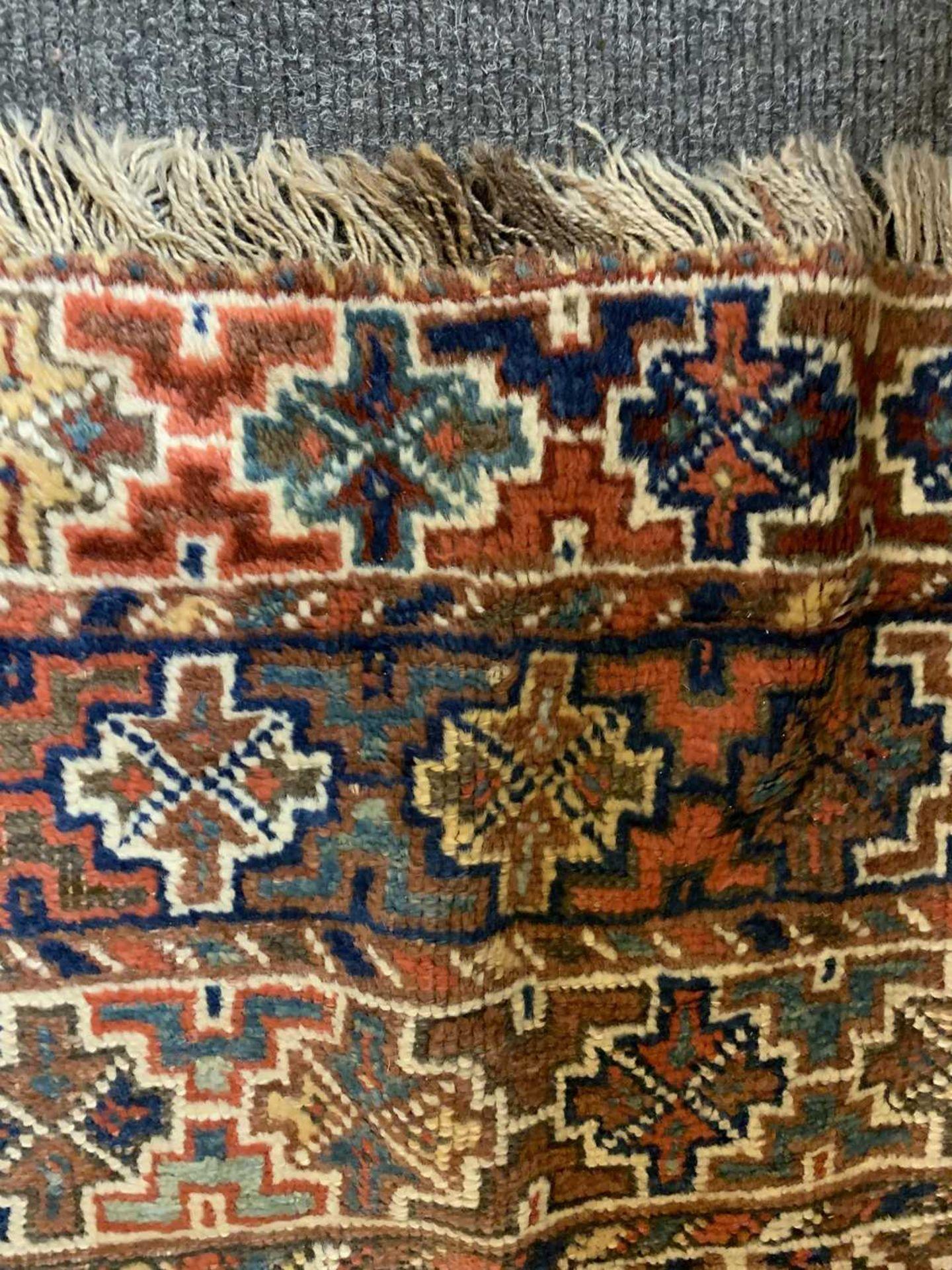 A Persian Khamseh carpet, - Image 15 of 15