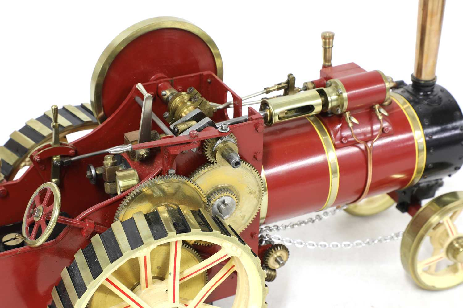 A ¾in scale model Burrell-type live steam traction engine, - Image 6 of 7