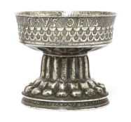A silver gilt reproduction replica of The Tudor (Holms) Cup,